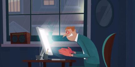Объясняющий ролик в формате 2D анимации для сервиса «Горячая Линия Рунета»